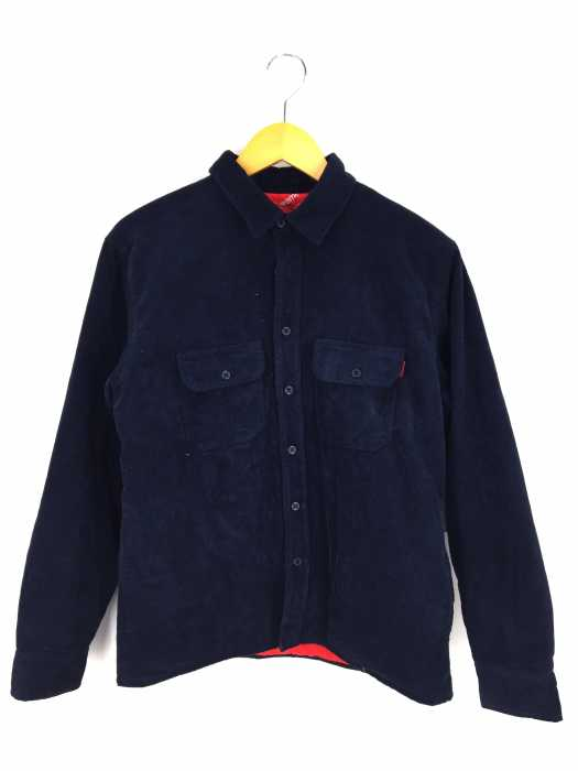 Supreme(シュプリーム) 17AW Corduroy Quilted Shirt メンズ トップス