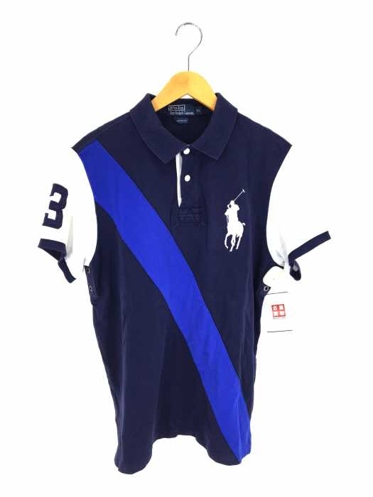 Polo by RALPH LAUREN (ポロバイラルフローレン) ビックポニー 刺繍入りポロシャツ メンズ トップス