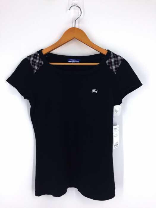 BURBERRY LONDON BLUE LABEL(バーバリーロンドンブルーレーベル) ワンポイント刺繍Tシャツ レディース トップス