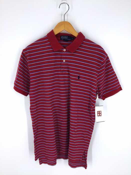 Polo by RALPH LAUREN (ポロバイラルフローレン) ボーダー柄ワンポイント半袖ポロシャツ メンズ トップス