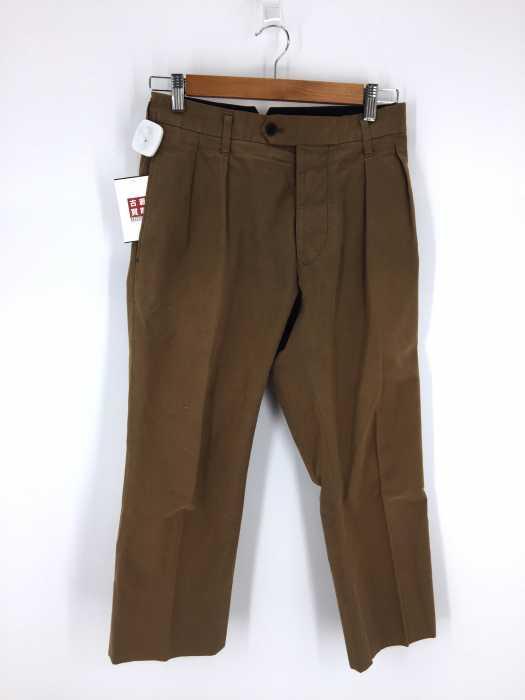 MARGARET HOWELL (マーガレットハウエル) センタープレススラックスパンツ メンズ パンツ
