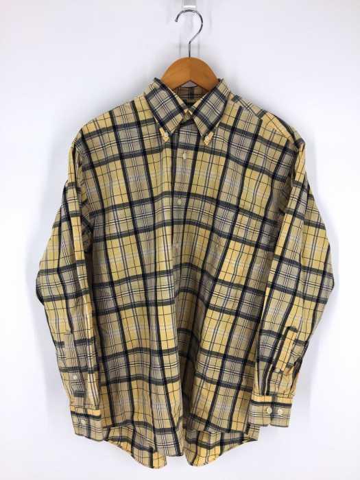 NAUTICA (ノーティカ) チェック柄長袖BDシャツ メンズ トップス