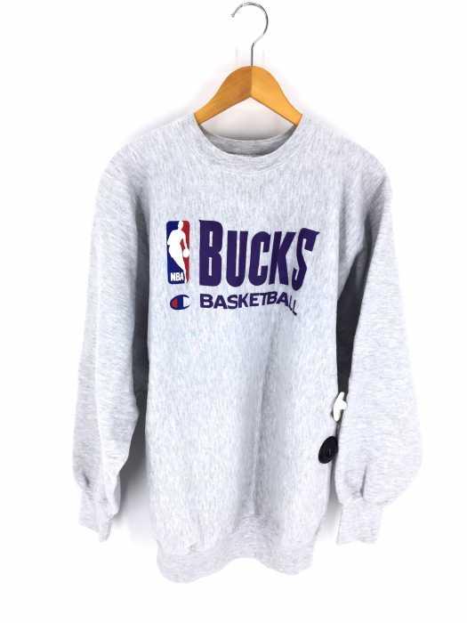 Champion (チャンピオン) 90S 刺繍タグ NBA リバースウィーブスウェット メンズ トップス