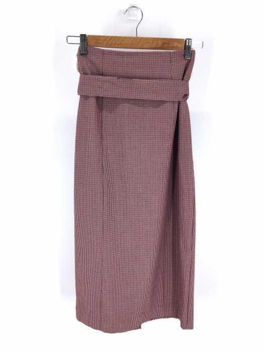 BANANA REPUBLIC (バナナリパブリック) チェックベルテッドスカート レディース スカート