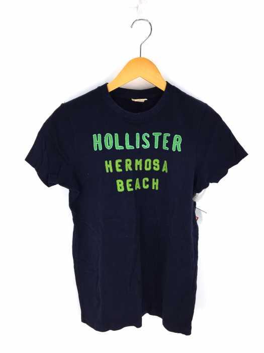 hollister(ホリスター) ロゴ刺繍半袖Tシャツ メンズ トップス