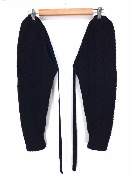 unfil(アンフィル) ケーブル編みアームウォーマー レディース ファッション雑貨