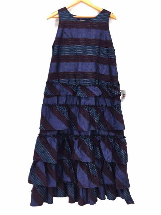 maturely(マチュアリー) BEAMS BOY Denim & Jacquard Western Dress レディース ワンピース