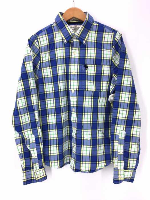 Abercrombie & Fitch(アバクロンビーアンドフィッチ) チェック柄ボタンダウンシャツ メンズ トップス