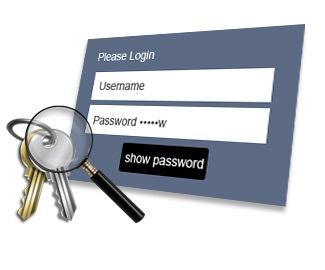 パスワードやキーを取り戻す