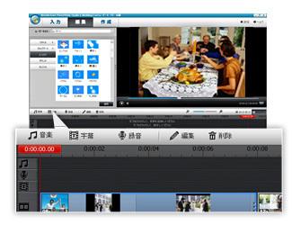 豊富なビデオエフェクト機能