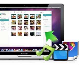 音楽・ビデオ・写真をiPhone/iPod touch/iPadからMacに転送