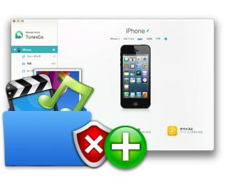 iPhone/iPod/iPadにミュージック・ムービー・写真を楽に管理