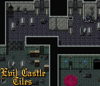 Ace Auto Sales >> Evil Castle Tiles Pack| RPG Maker | Create Your Own Game!