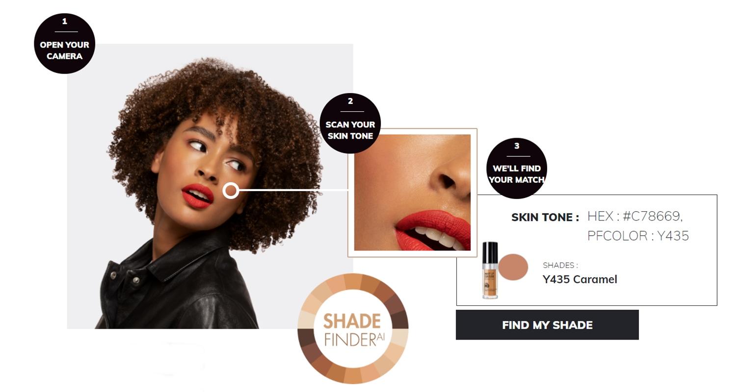 Make Up For Ever Foundation Shade Matcher