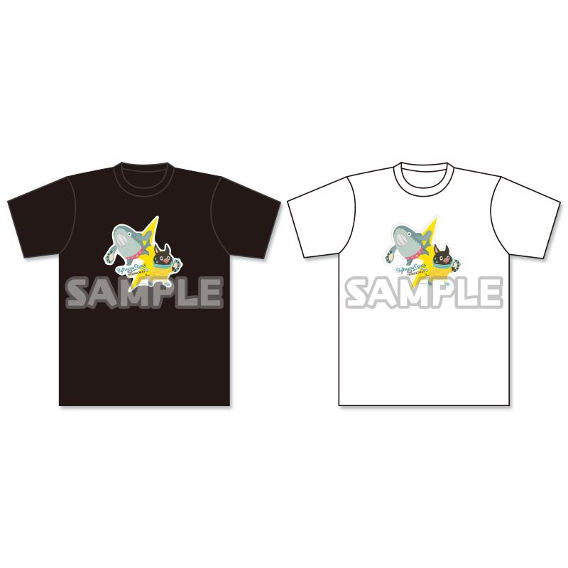 イナズマデリバリー Tシャツ(Dance)黒/白
