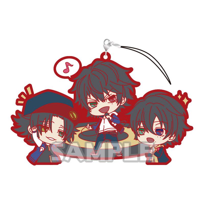 ヒプノシスマイク-Division Rap Battle- ラバーストラップRICH  Buster Bros!!!