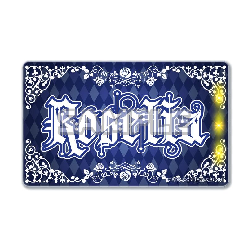 光るICカードステッカー Roselia