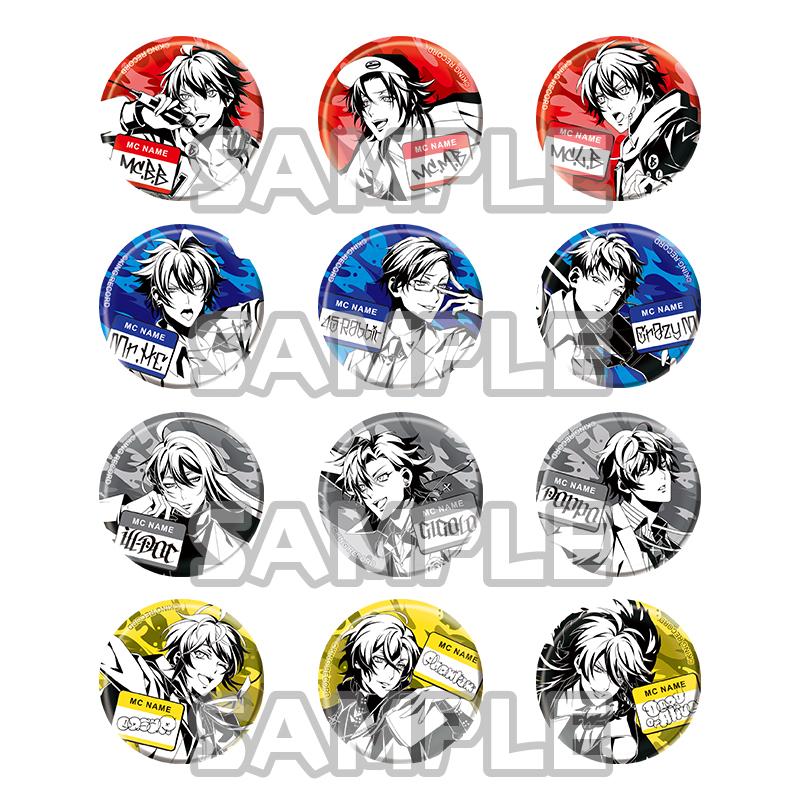ヒプノシスマイク-Division Rap Battle- カプセル缶バッジ