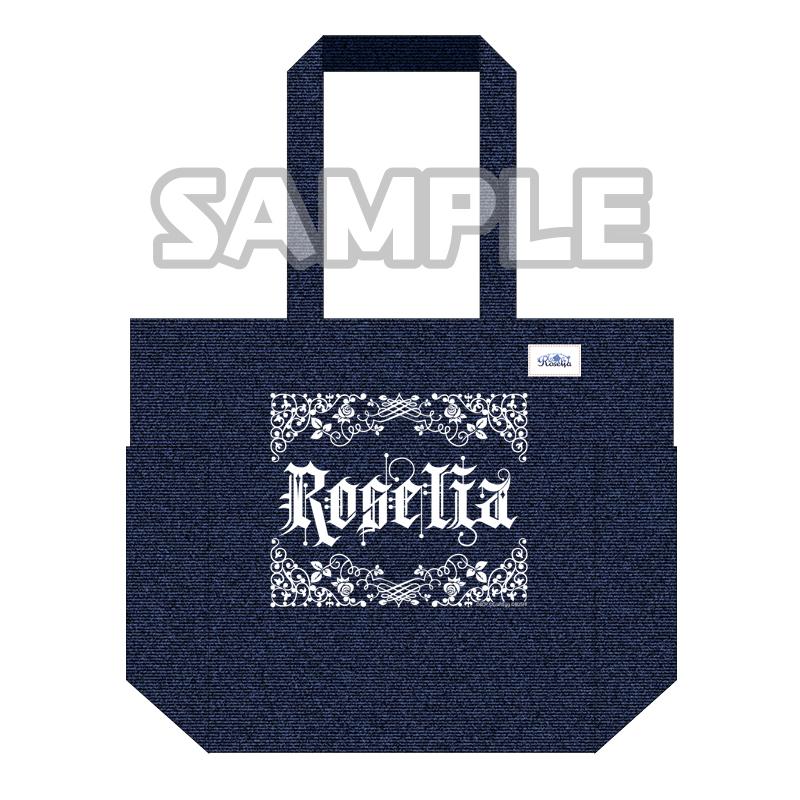 デニムトートバッグ Roselia