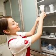 戸棚食器の整理収納