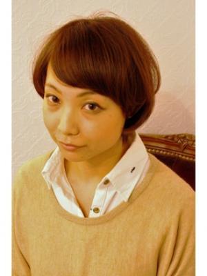 ~Novel by Tina~小顔ナチュラルショート