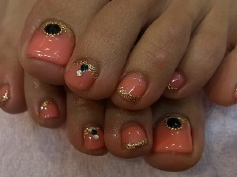 ★★エスニック Foot Nail★★