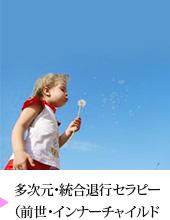 多次元・統合退行セラピー(前世・インナーチャイルド・ヒプノセラピー)