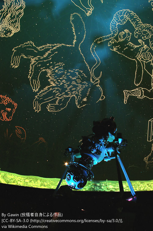 プラネタリウム室で行う オーロラ全天投影会2016 in 帯広 帯広市 (5/27〜28) 札幌