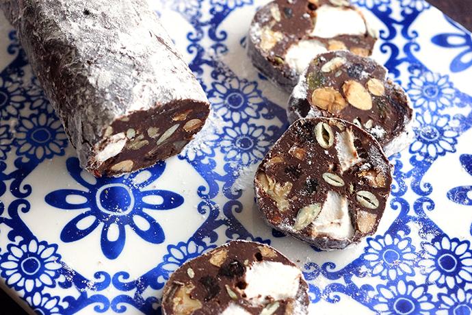 サラミ レシピ チョコ