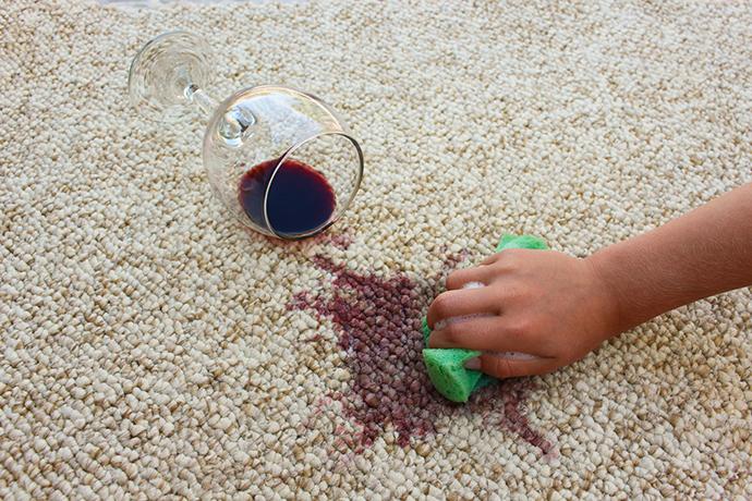 染み抜き ワイン