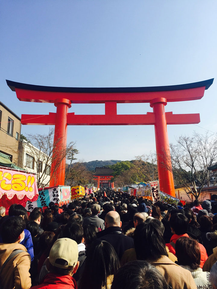 New Year Hatsumode