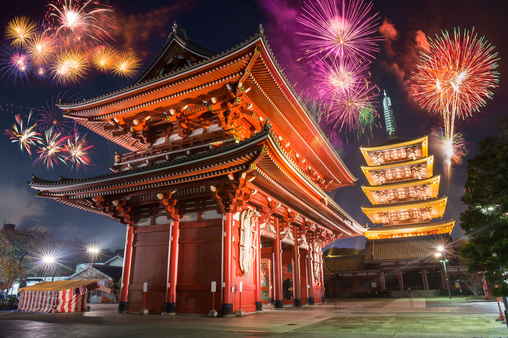 Sensoji New Year