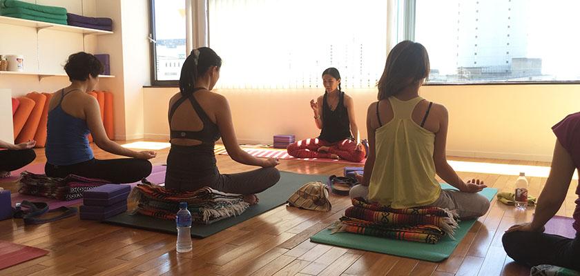 FIRSTSHIP(ファーストシップ)瞑想講師養成講座の風景