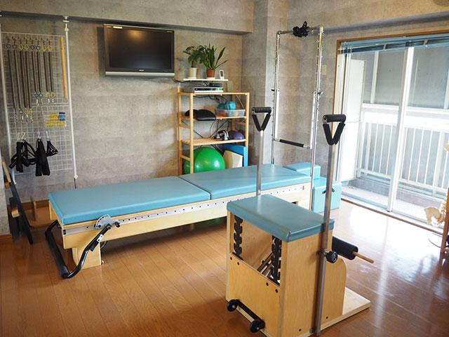 PILATES STUDIO B&B(ピラティススタジオビーアンドビー)のスタジオ風景