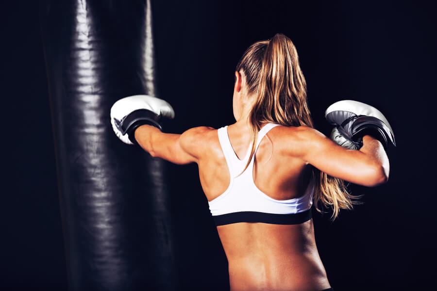 ボクシングフィットネスジムノアのレッスン風景