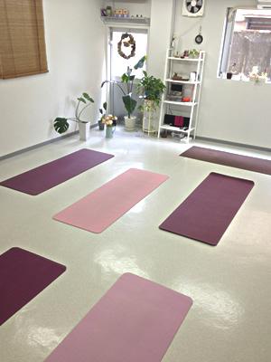 mellow-yoga*studio (メロウヨガスタジオ)のスタジオ風景