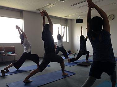 Eriko Yoga Class (エリコヨガクラス)のレッスン風景