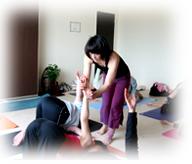 Vie Yoga (ヴィー ヨガ)のレッスン風景1