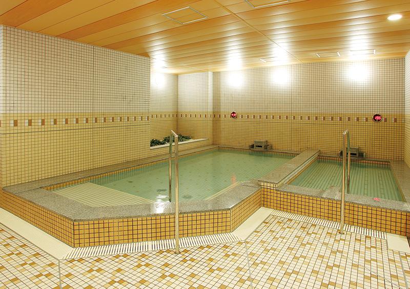セントラルウェルネスクラブ24西新井の温浴施設