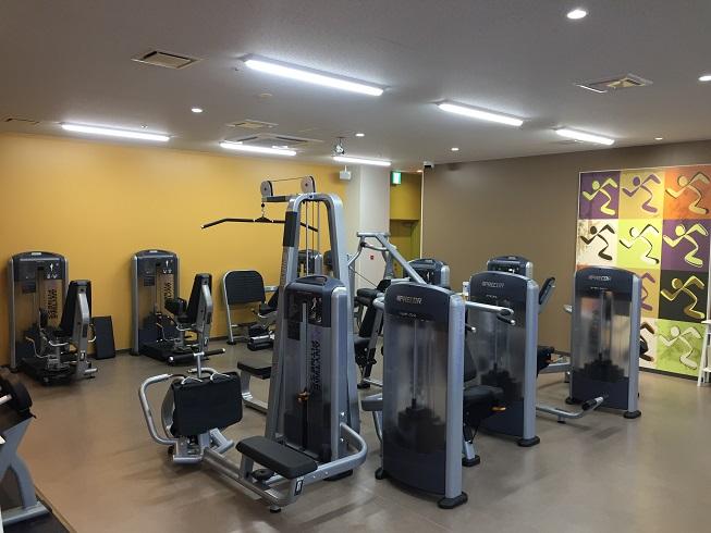 エニタイムフィットネス浦安東野店のスタジオ風景
