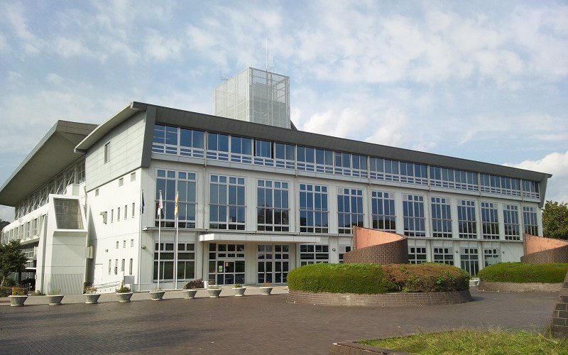 静岡市中央体育館の外観