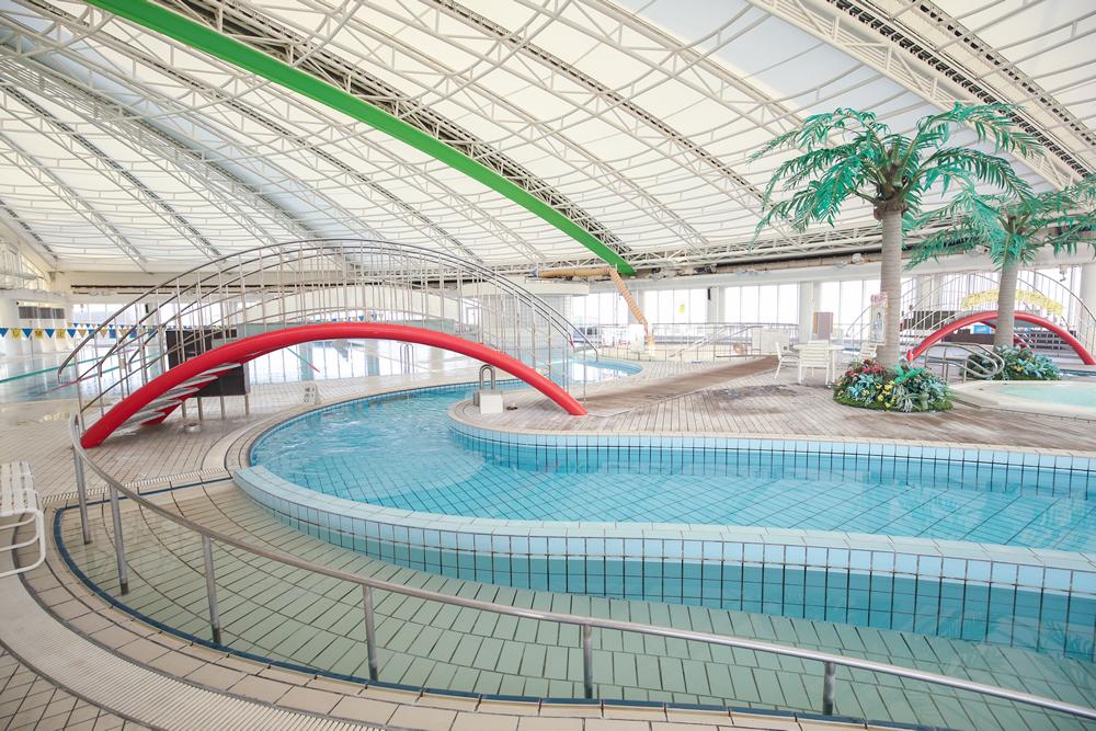 京都テルサフィットネスクラブのプール