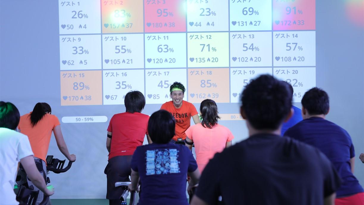 Wellness club OAK21(ウェルネスクラブオーク)のレッスン風景