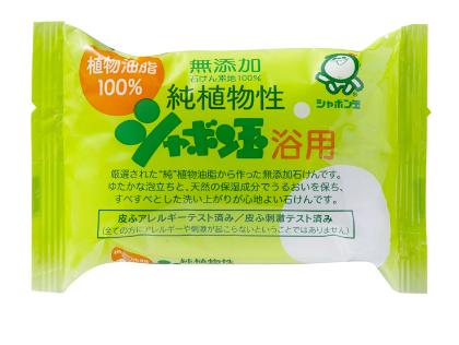 植物性シャボン玉石鹸