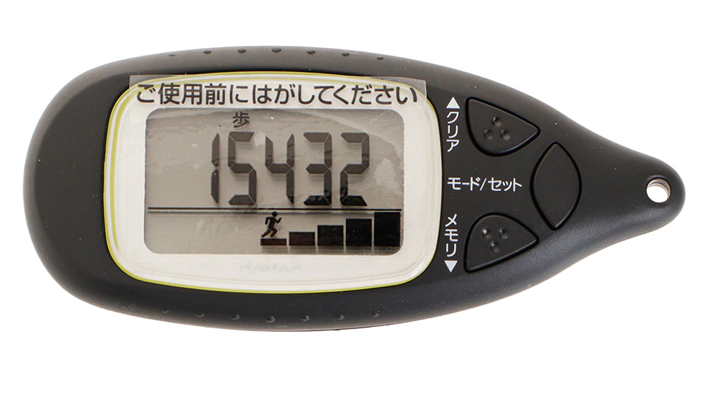 ドリテック 歩数計 H-302-BK/T