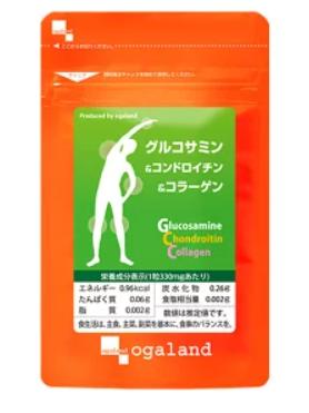 オーガランド グルコサミン&コンドロイチン&コラーゲン