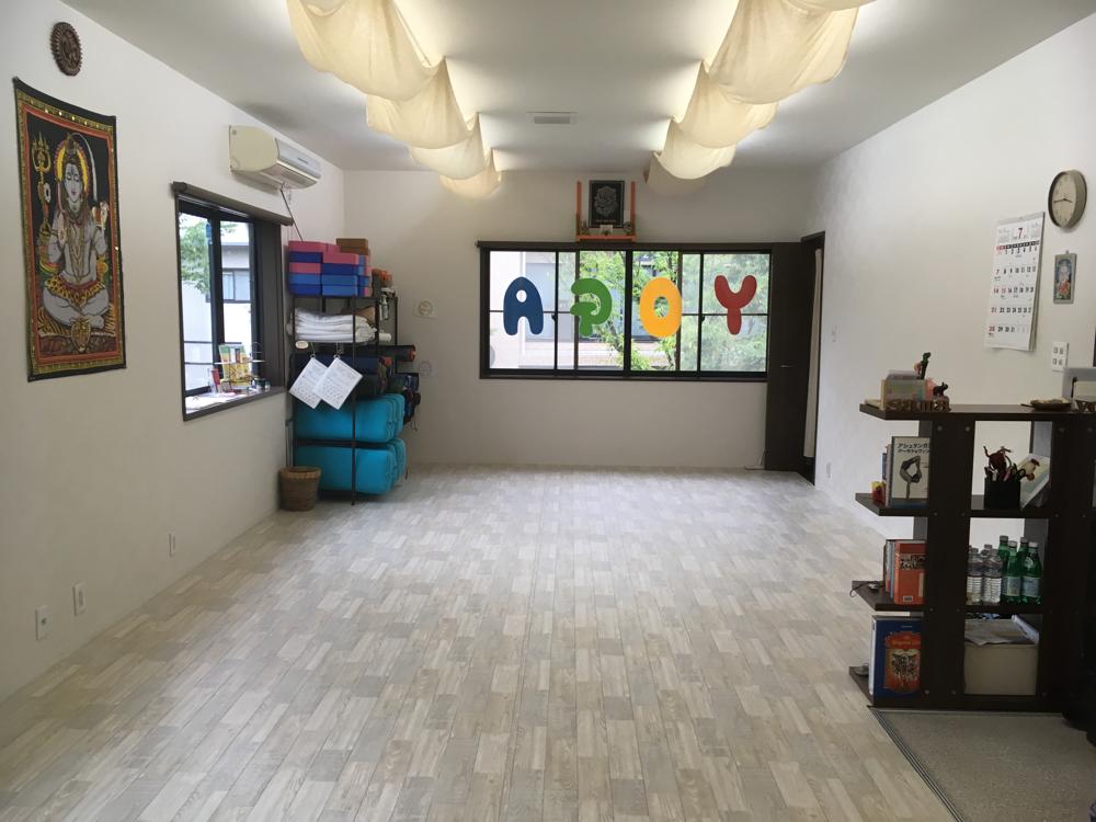 Sama Yoga Shala (サマヨガシャラ)のスタジオ風景