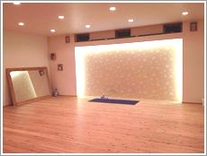 ヨガスタジオ MIKI(ミキ)のスタジオ風景