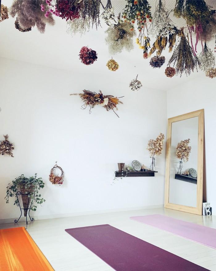 小さなヨガ教室atelier MACOYA (アトリエマコヤ)のスタジオ風景