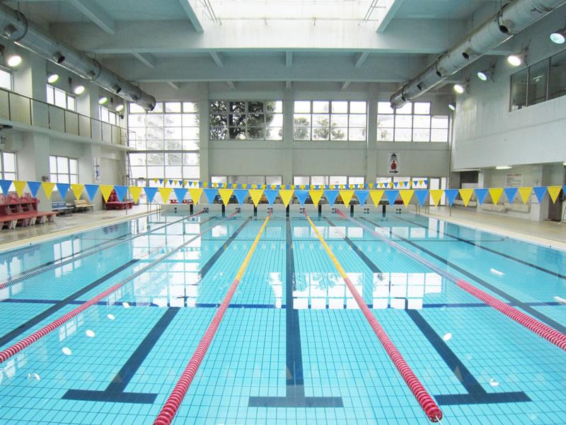 江戸川区スポーツセンターのプール風景